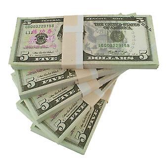 """שחק כסף - 5 דולר ארה""""ב (100 הערות)"""