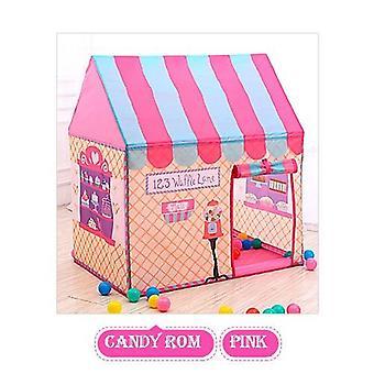 Baby Faltbare niedliche Spielhäuser und Spaß Schule Outdoor Spielzeug Zelt Lodge Wigwam Outdoor Spiele