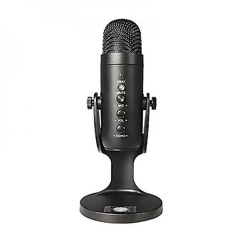 Professional Streaming Studio Usb Microphone Game Podcast Video Recording Condenser Microphone Suitable For Pc Computer Karaoke Microphone
