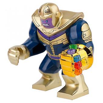 7cm End Spiel Thano Rüstung mit Infinity Gauntlet Schwert Große Größe Figuren Mini Puppen Bausteine Spielzeug für Kinder Geschenk Halloween