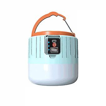 Camping lights lanterns portable lantern solar led camping light usb rechargeable bulb for outdoor tent lamp emergency