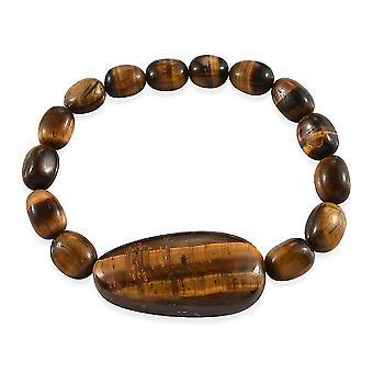 Perlen Armband für Frauen 6,75 '' Tiger's Auge Geburtstag/Jubiläumsgeschenk 162,4ct