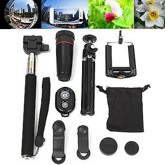 オールインワンカメラアクセサリーセット電話写真は、携帯電話用のアクセサリーを取ります