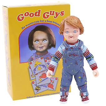 """Neca Childs Spelen Good Guys Ultimate Chucky Pvc Action Figure Collectible Model Speelgoed 4 """"10cm"""