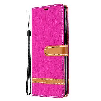Leather Case For Xiaomi Redmi Note 9s/note 9 Pro Max Denim Pattern