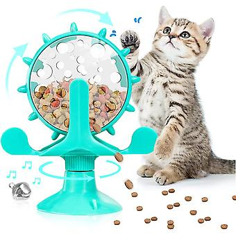 Pet Toy Cat Automatic Feeder, Leisure And Entertainment (blue)