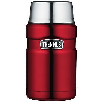 Thermos King heißen und kalten Reisen Essen Flasche 710ml Rot