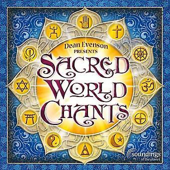 Dean Evenson - Sacred World Chants [CD] USA import