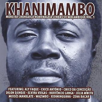 Khanimambo: Moreira Chonguica Homenageia Lendas De - Khanimambo: Moreira Chonguica Homenageia Lendas De [CD] USA Import