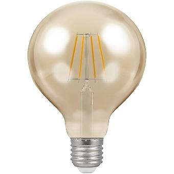 Crompton 7.5W LED Filament G125 Globe Light Bulb, B22