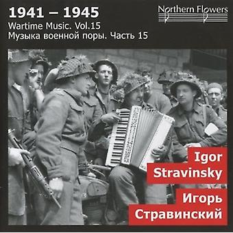St.Petersburg State Academic Symphony Orchestra - Wartime Music 15 Igor Stravinsky Sy [CD] USA import