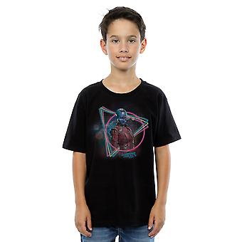 Marvel Boys Guardians Of The Galaxy Neon Nebula T-Shirt