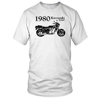 Kawasaki Z1300 1980 klassisk sykkel Mens T-skjorte