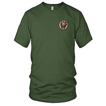 ARVN Ranger III CORPS Recon Tham Kich - militære emblemer Vietnamkrigen brodert Patch - Mens T skjorte