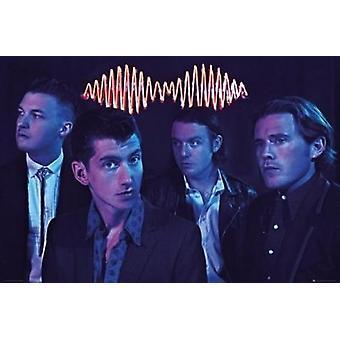 Arctic Monkeys - ryhmän juliste Juliste Tulosta
