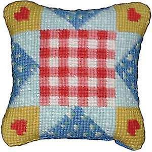 coeurs de patchwork Kit Tapisserie
