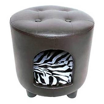 Axis-Biozoo Leather Pouf for Dogs (Dogs , Bedding , Sofas)