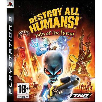 Tuhoa kaikki ihmiset Furonin polku (PS3) - Uusi