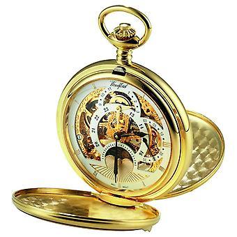 Woodford Skeleton Pocket Mechanical 1051 Watch