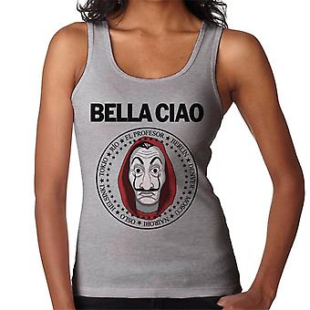 Geld Heist Bella Ciao Damen Weste