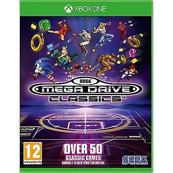 Sega Mega Drive Classics Xbox One Spiel