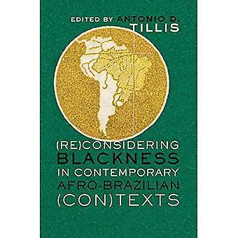 (Re) Considerando el grado de oscuridad en contemporáneo Afro-Brasileño (Con) textos