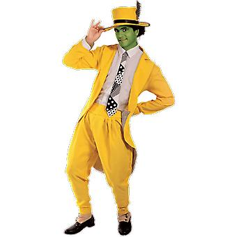 Orion Costumes Mens The Mask Film Yellow Suit Halloween Film Fancy Dress