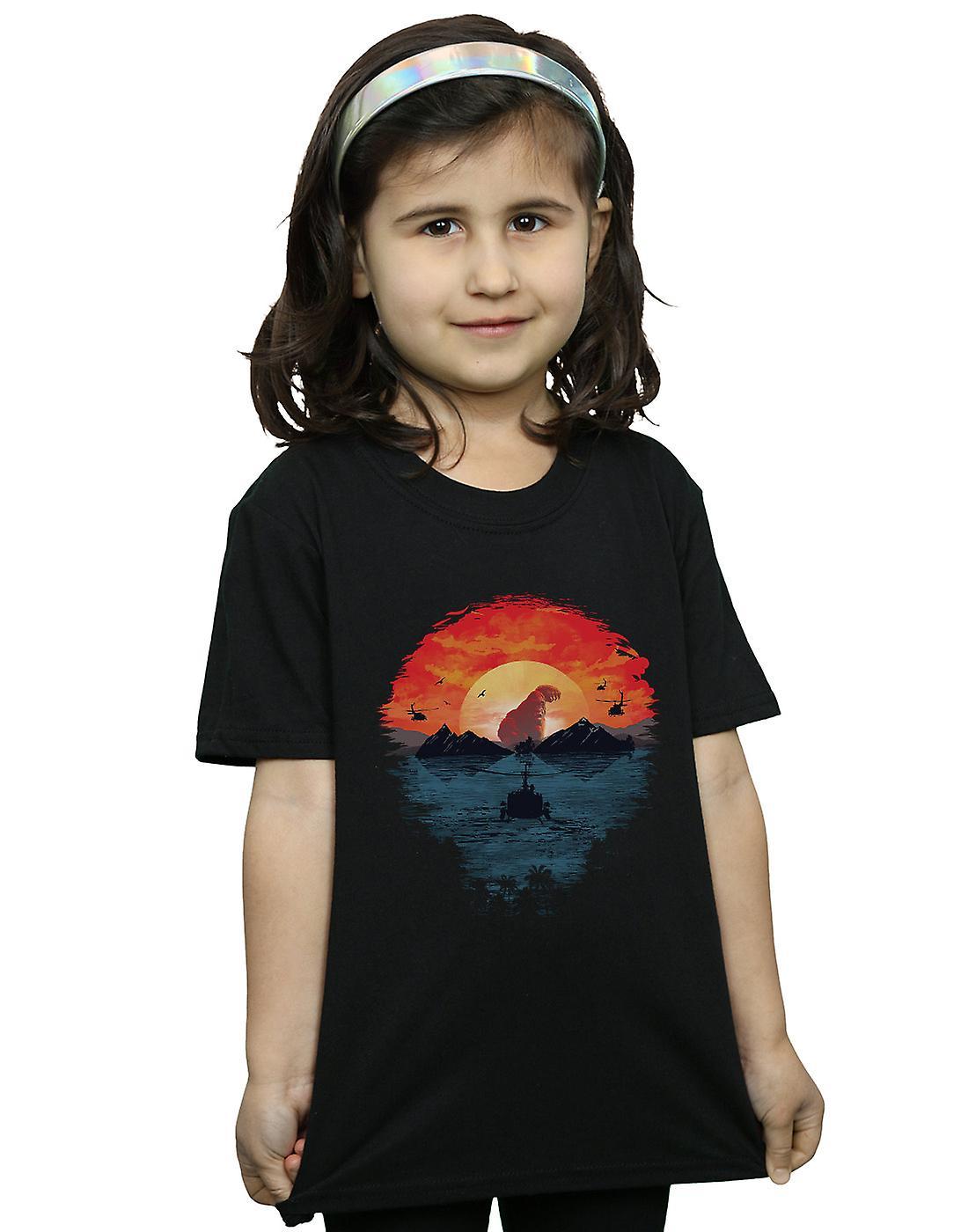 Dan Dingeroz Girls Skull Island T-Shirt