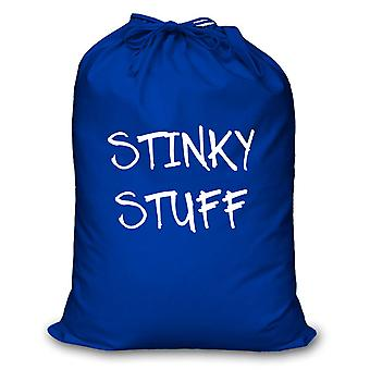 Blue Laundry Bag Stinky Stuff
