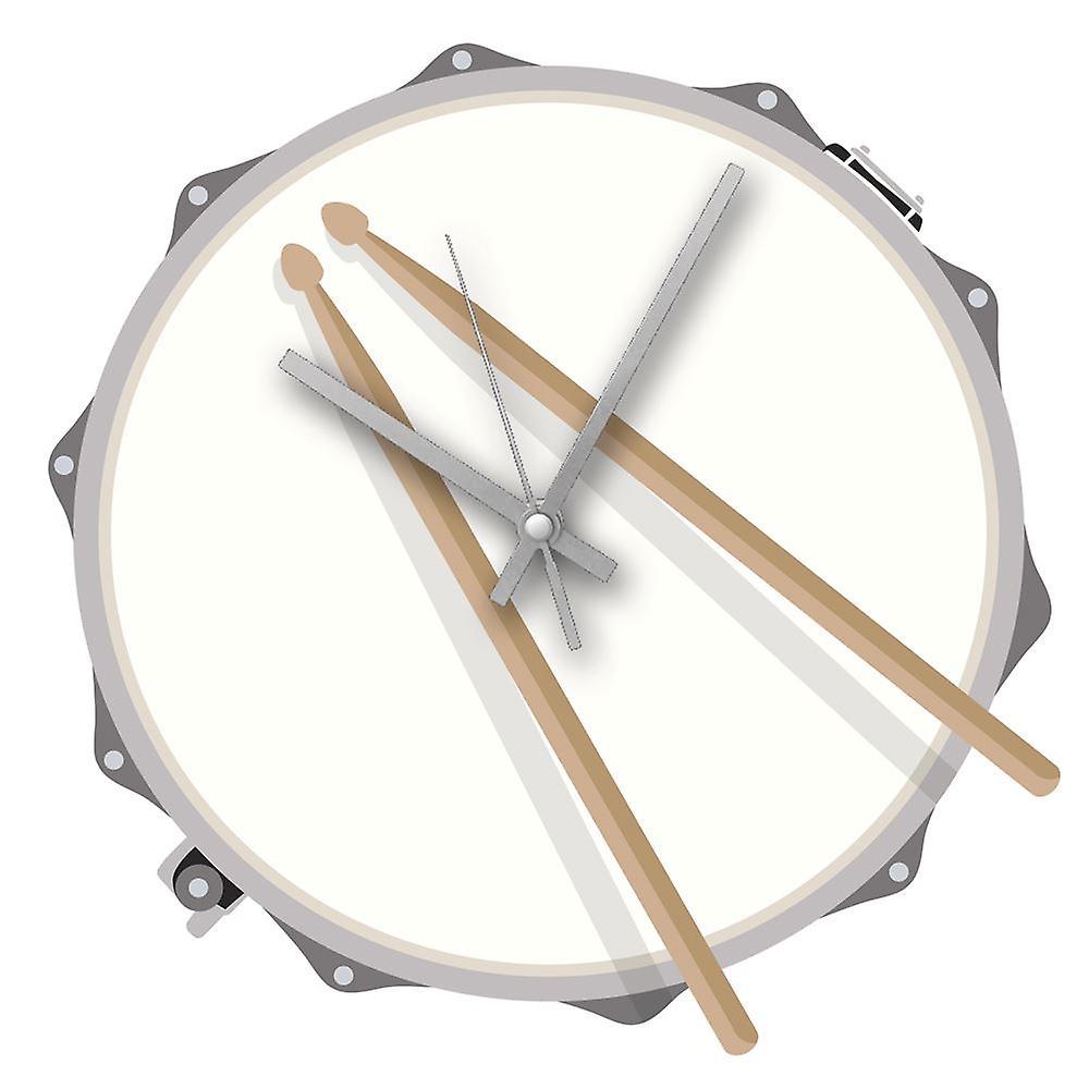 Hot House Design Rock Club Clock Drum