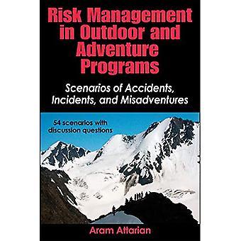 Risikostyring i utendørs og eventyr programmer: scenarier ulykker, hendelser og uhell