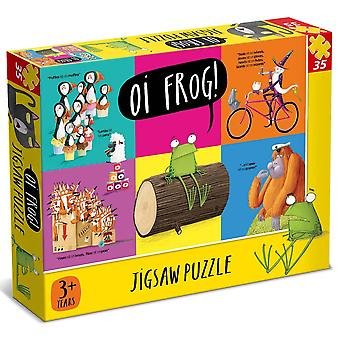 University Games Oi Frog 35 Piece Jigsaw Puzzle