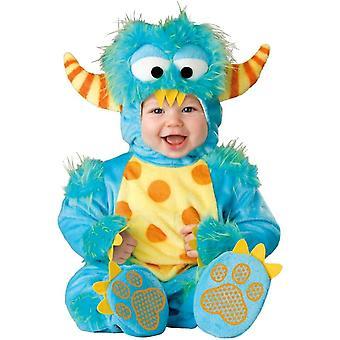 Costume pour bébé monstre bleu