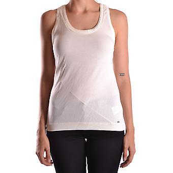 Peuterey Ezbc017010 Women's White Cotton Top