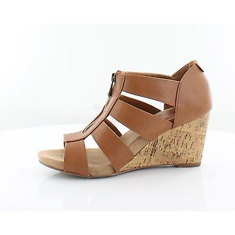 Stijl & Co. Womens Fettee Open teen ongedwongen Platform sandalen