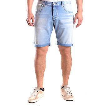 Selected Homme Ezbc157007 Men's Light Blue Denim Shorts