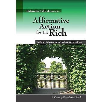 Myönteisiä toimia rikas - perintö asetukset College Admiss