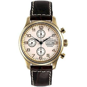 Zeno-watch mens watch NC retro chronograph DD 9557TVDD-Pgr-f2