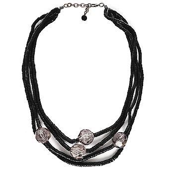 Zen Jewellery Crystal Detail Beaded Necklace