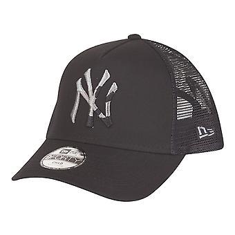 New Era Kids Trucker Cap-CAMO NY Yankees Black