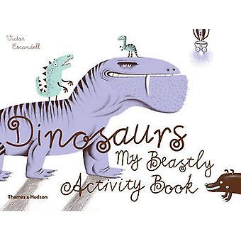 Dinosaurier-min Beastly aktivitet bok av Victor Escandell-97805006504