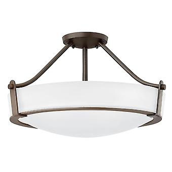 Elstead-2 lumière Medium semi-Flush-Olde bronze-HK/HATHAWAY/SFMB