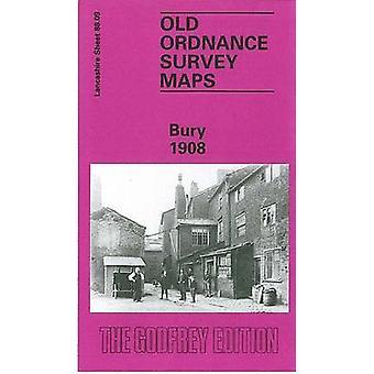 Bury 1908 - Lancashire Sheet 88.09 by Nick Burton - 9780850546606 Book