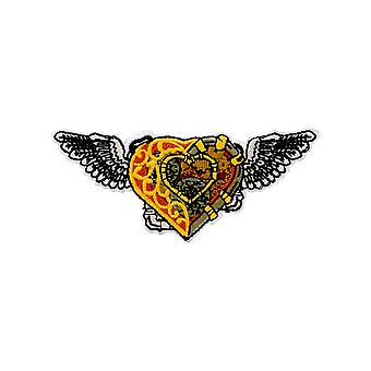 Grindstore Steampunk Heart Patch