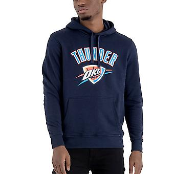New Era Fleece Hoody-NBA Oklahoma City Thunder navy
