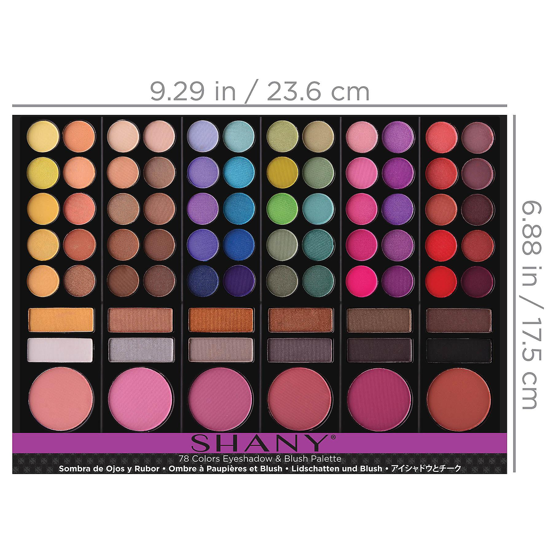 SHANY Eye shadow & Blush and Face powder Palette 78 Color Cosmetics Makeup Palette