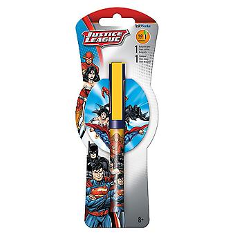 Ballpoint Pen - Justice League - w/Notepad Pack iw1527