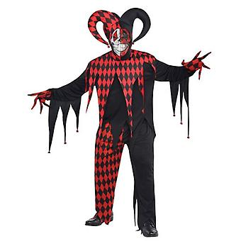 Amscan Sinister Joker Costume for Adult Standard (Babies and Children , Costumes)