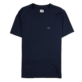 CP bedrijf reverse Goggle print T-Shirt Navy 888