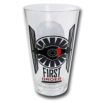 Star Wars Force Awakens First Order 10oz Juice Glass